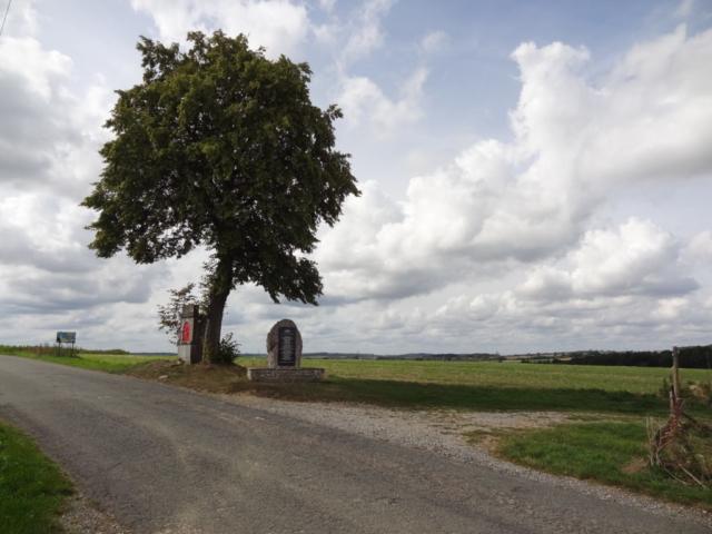 Chapelle Sainte-Brigide, et début du plateau 'de la Bataille'